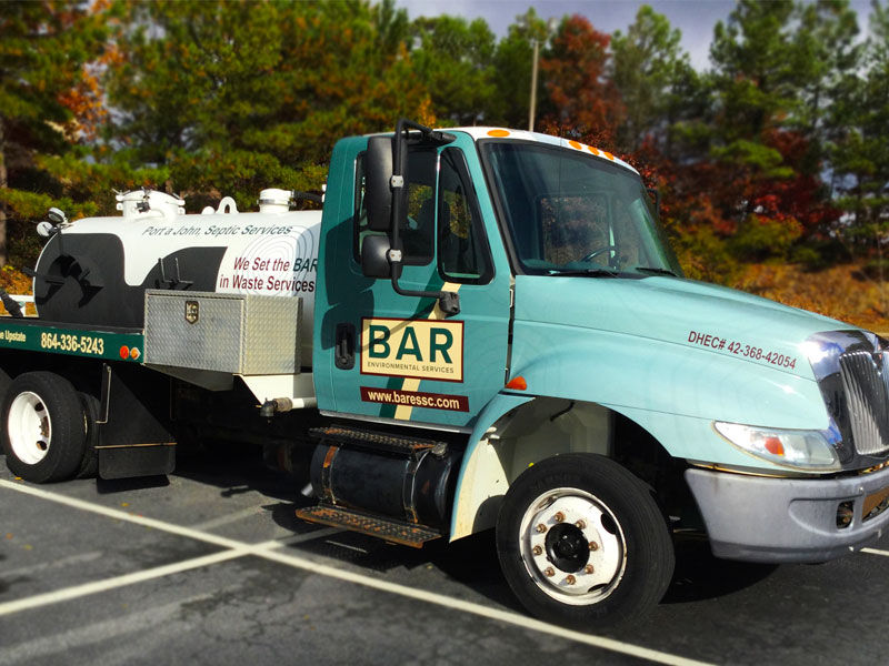 BAR Environmental Services | Greenville Truck Wrap