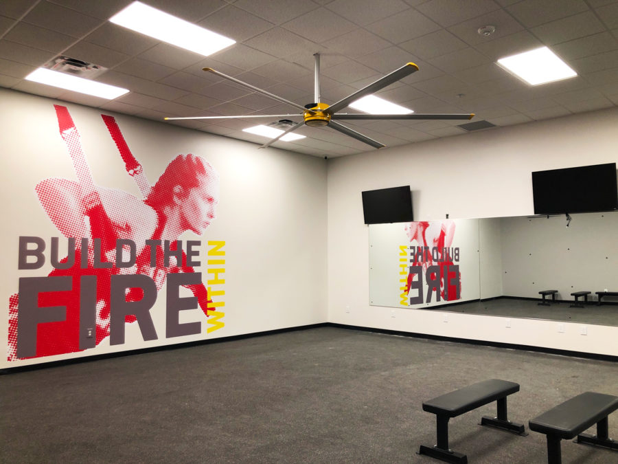 Gold's Gym Motivational Wall | Anderson, South Carolina