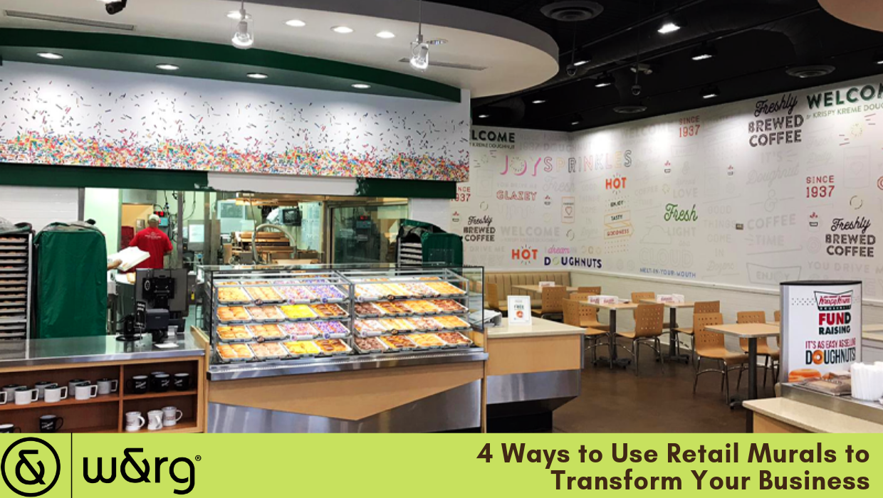 4 Ways to Use Retail Murals
