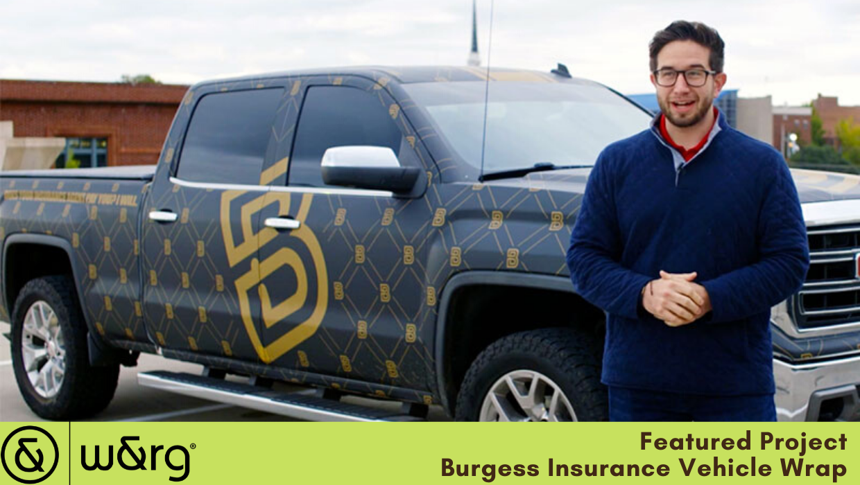 Vehicle Wrap Testimonial | Burgess Insurance